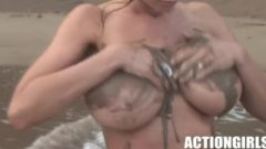 Veronica Zemanova Beautiful In Ibiza, HD