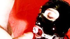 Enormous Load Cum Shot Ring Gag Latex Mask 720p HD
