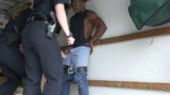 Hd Black Suspect Taken On A Harsh Ride
