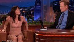 Robin Tunney Upskirt On Conan Slow-Mo Zoom HD