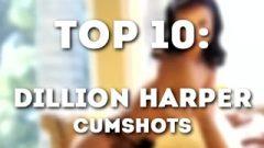 Dillion Harper: Cum-Shot Compilation HD (10 LOADS – By: Topilation)