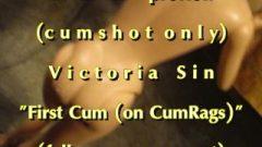 B.B.B.preview Victoria Sin first Sperm With SpermRags NoSloMo AVI High Def Sperms