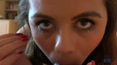 Blair's Bedroom Eyes And Provocative Feet Make You Jizz With Ease