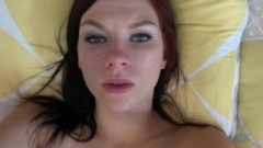 Hungry Ginger In Dessous Bangs Like Nobody POV