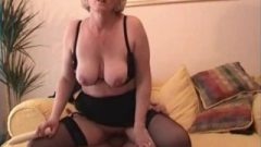 Filthy Mature Makes A Porno With Hookup Man