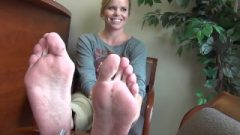 Incredible Blonde Feet And Bunions.