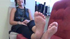 MILF Feet JOI