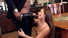 Amirah Adara Working Raw To Earn Her Boss Huge Ebony Tool