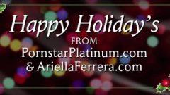 Ariella Ferrera Gives Happy Holidays Pov Blow Job
