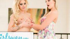 Girlsway Jessa Rhodes Breaks In Frigid Lezbo