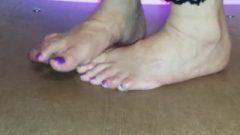 Cruel Cockcrush And Footjob In Sexy Tight Overall