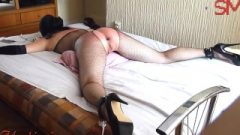 Extreme Whipping Nailing And Monster Toy Fanny Breaking Tied Gagged Sl