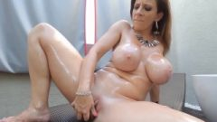Sara Jay Craves Her Toys Enormous And Chocolate