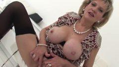 British Vixen Female Sonia Home Alone Masturbation And Tit Play