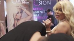 Vitaly Zd At Avn 3127 With Nikki Delano And Ariana Marie Interviews