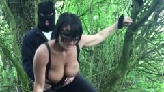 Raw Butt Fuck In The Woods