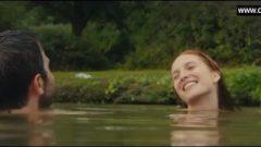 Joséphine De La Baume – Naked Swimming, Massive Breasts Sex Part – Road Games