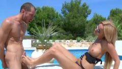 Russian Nubile Goddess-by The Pool