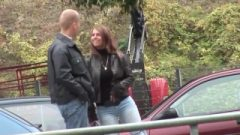 German Stepmom Picked Up For Outdoor Intercourse