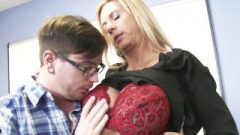 Busty Fair-haired Lecturer Brooke Tyler Bang's Her Bad Scholar — Horny America