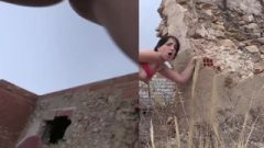 Fake Cop Peachy Arsed Spanish Barbie Bangs Policeman