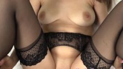 Lelu Love-pov Garter Sexy Tights Huge Creampie