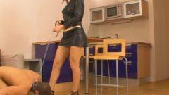 Nubile Russian Goddess High Heel And Foot Adulation