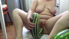 Old Female Masturbates