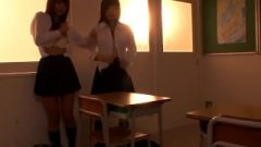 Asian Lesbo School-girls