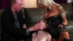 Cougar Old Guy And Teen Slut