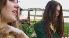 Samantha Bentley And Misha Cross As School-girls