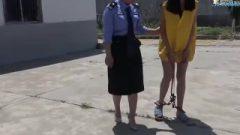 Chinese Chick At Jail