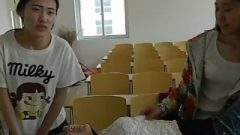 Chinese Stimulating Tutor Receives Racked And Tickled By Students