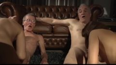 The Old Men Mansion Of Brutal Blow-Job Jizzshots Fuck Two Teen Babes